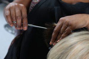hair stylist haircut